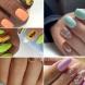 Летен маникюр за къси нокти колекция