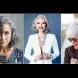 Златни прически за златни дами - какво отива на сивите коси (Снимки):