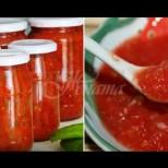 Ще забравите за кетчупа! Ароматно, пикантно допълнение към всички гарнитури и месни ястия - доматен сос за зимата