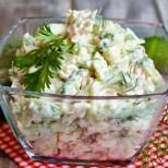 С тази салата друго не ти трябва за вечеря, вкусна, питателна и много освежаваща за лятото
