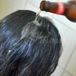 Тази маска за коса с бира накара косата ми да расте като луда и стана двойно повече