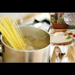 9 безценни начина да използваш водата от спагетите повторно - и в кухнята, и в домакинството, и за красота: