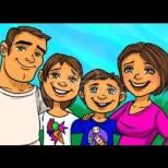 Кое от децата на картинката е осиновено