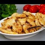 Намазвам пиленцето с тази смес и за 5 минутки на тиганче става мозък! Сочно, а не подметка, крехко и топящо се в устата:
