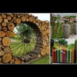 25 уникално красиви и креативни огради, с които да се скриеш от любопитни погледи (Снимки):