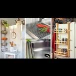 17 хитри кухненски приспособления, с които можеш да събереш двойно повече в шкафовете (Снимки):