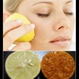 Вземам половин лимон, потапям и масажирам лицето - само 10 минути, а ефектът е моментален!