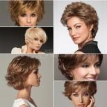 Стилни дамски прически италиански стил топят годините