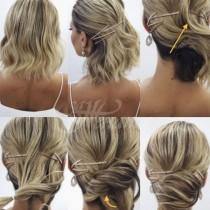 15 начина как да вържем къса коса и да изглежда изключително нежно и красиво това лято (снимки)