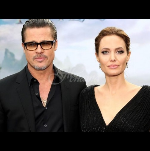 Брад Пит и Анджелина Джоли отново заедно!