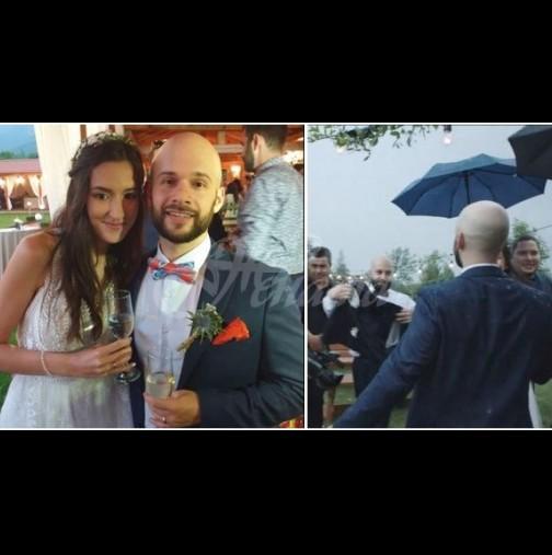Невъзможната сватба на българка и американец трогна света - Милена и Итън казаха ДА напук на COVID и стихиите (Снимки):