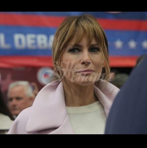 Стилистът на Мелания Тръмп: Този цвят състарява и съсухря жената над 40 - не го докосвайте! (Снимки)