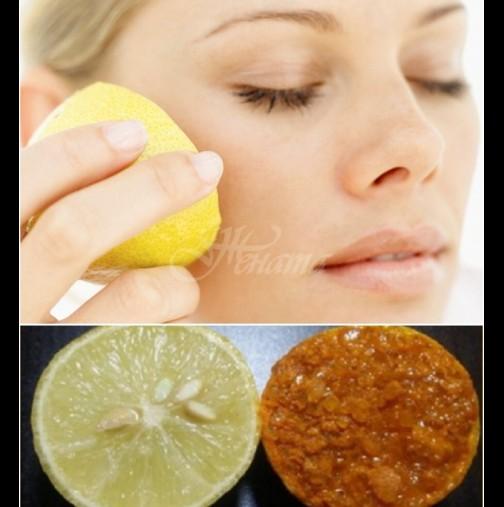 Подмладяване с лимон - лице на богиня и кожа на бебче за 1 седмица!