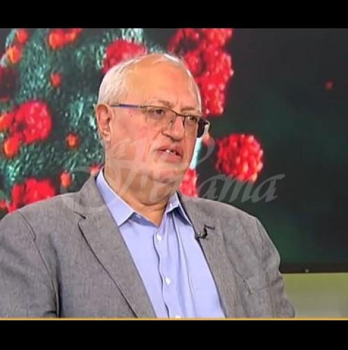 Бившият шеф на Пирогов-Ето откога ще започнат да намаляват заразените с Covid-19
