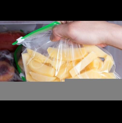 1 лъжичка и ще ядете пържени картофи каквито никога досега, лошото е, че 1 порция никога не стига