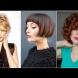 Късо каре с бретон - стилни варианти 2020 (Снимки):
