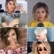 Прически с бретон за къса и средна коса 2020