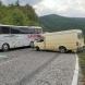 Челен удар между бус и автобус с пострадало дете - снимки