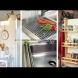 Хитри приспособления за кухнята, които пестят много място (Снимки):