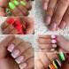 Как да направите дизайна на ноктите си уникален-Маникюри-дъга-20 предложения