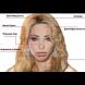 Ето как изглежда съвършеното женско лице според мъжете и според жените
