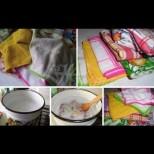 Нито едно петънце! Кухненските кърпи скърцат от чистота! Няма сапун, няма прах, няма гореща вода! Само накисвам и петната сами падат: