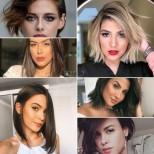13 стилни прически за жени с овална форма на лицето