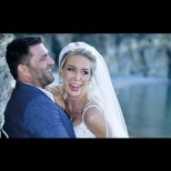 Антония Петрова вдигна четвърта сватба - вижте красивата булка (Снимки):