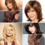 Италианска прическа Аврора за 2020 -Решение за средна коса