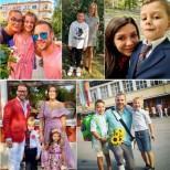 Децата на БГ-звездите на първия учебен ден (Снимки):