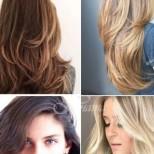 Стилни прически за дълга коса