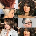 Подмладяващи прически с бретон за жени над 40-16 страхотни идеи