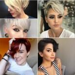 Къси прически с бретон: 16 стилни опции за дръзки дами