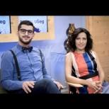 Деси Стоянова и Сашо Кадиев започнали първия си работен ден в предаването с голяма трагедия