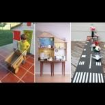17 супер идеи за детски играчки от кашони за сръчни татковци и майки - с тях дечкото ще се занимава цял ден (Снимки):