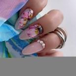 26 флорални и плодови маникюра за истински цветни феи! Тържество на красотата (Снимки):