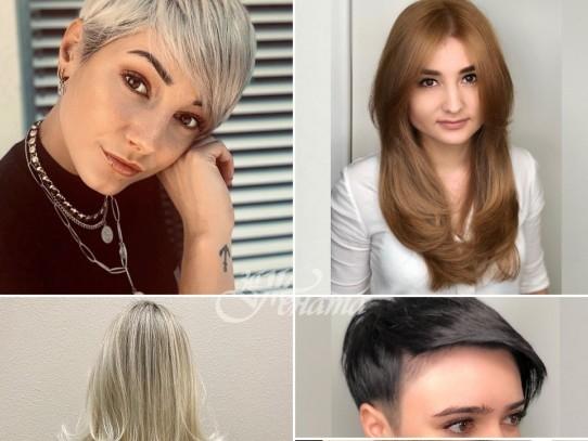 Прическа за тънка коса