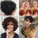 Прически за къса коса, гъста коса след 40-12 страхотни идеи