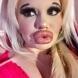 Няма да повярвате как е изглеждало българското Барби преди да си направи 21 операции на устата (снимка)