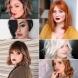 10 прически за жени с кръгло лице, популярни през този сезон