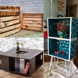 Нов живот за старите щайги - ето как да ги превърнете в модерни мебели за без пари! Стилно и оригинално (Снимки):