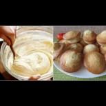 1 яйце, чаша кисело мляко, чаша захар и стават чудни Дунапренени кексчета! По-простичко от това няма, а са разкошни: