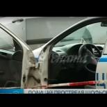 Бандит прегази полицаи, които опитали да го спрат, следва гонка и ето как завършва всичко!-видео