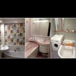 Умни решения за малката баня - как да съберем всичко на 2 кв.м, включително душ-кабина и вана! (Снимки):