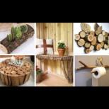 20 върховни идеи от счупени клонки за дома и градината - хем красиви, хем полезни (Снимки):