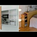 Блестящи идеи за съхранение в малкото жилище (Снимки):