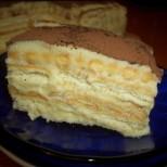 Бисквитена тортичка а ла Тирамису - пухкав домашен крем, масло и бисквитки! Как да не си хапнеш, като те разтапя отвътре: