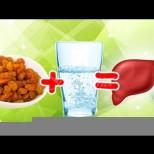 Стафиди + вода = благодарен черен дроб. Благодарение на тази смес се отървах от хронична умора, отоци, несъвършенства по кожата!