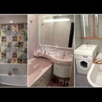 Умни решения за баня като кутийка - как да съберем всичко (Снимки):