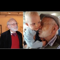 3-годишната дъщеричка на 87-годишния Ицко Финци е одрала кожата на младата си майка! Вижте ангелчето (Снимки):